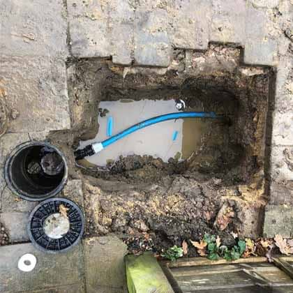 JD Moling - External Moling Services - Water Mains Replacement